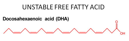 dha free fatty acid