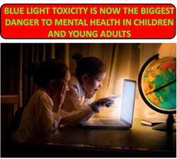 blue light toxicity and children